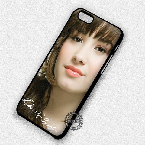Demi Lovato & Signature Cute - iPhone 7 6 5 SE Cases & Covers
