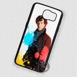 Detective Sherlock Holmes Benedict - Samsung Galaxy S7 S6 S5 Note 7 Cases & Covers