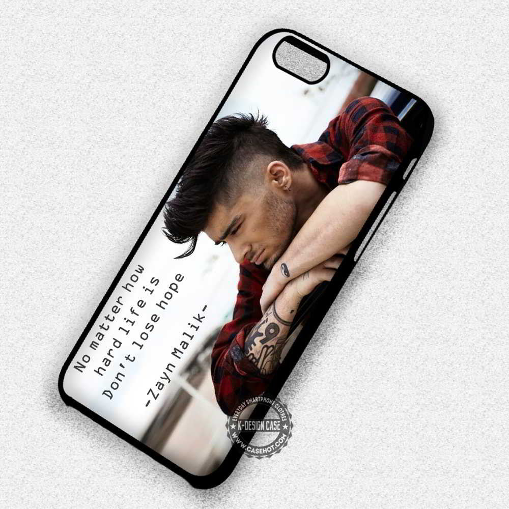 dont lose hope zayn malik quotes iphone 7 6 5 se cases covers