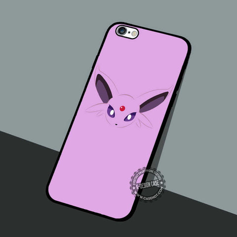 Espeon Wallpaper Face - iPhone 7 6 5 SE Cases & Covers