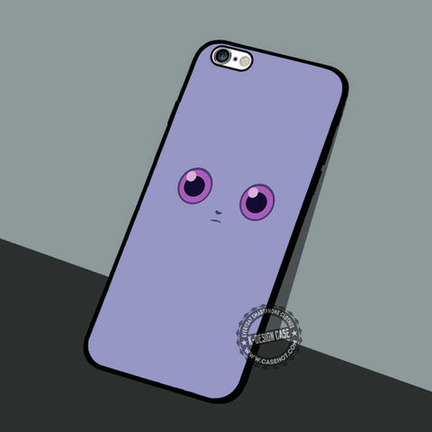 Espurr Creepy Face - iPhone 7 6 5 SE Cases & Covers