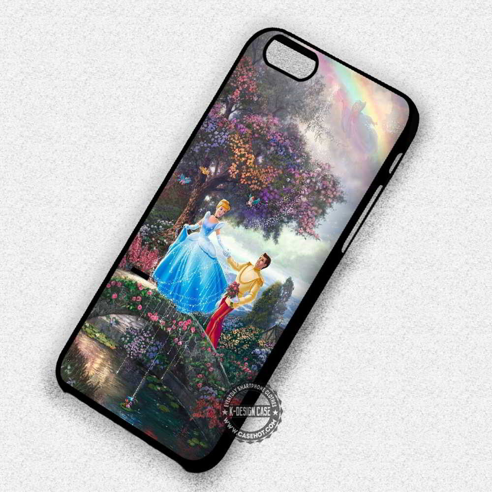 disney princess and prince Love iphone case
