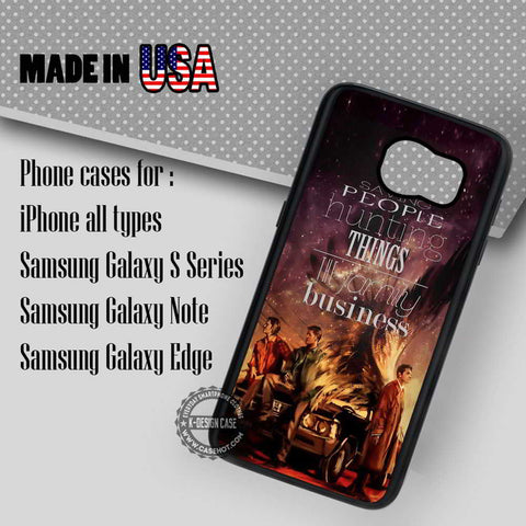 Family Bussiness Sam Dean - Samsung Galaxy S7 S6 S5 Note 5 Cases & Covers