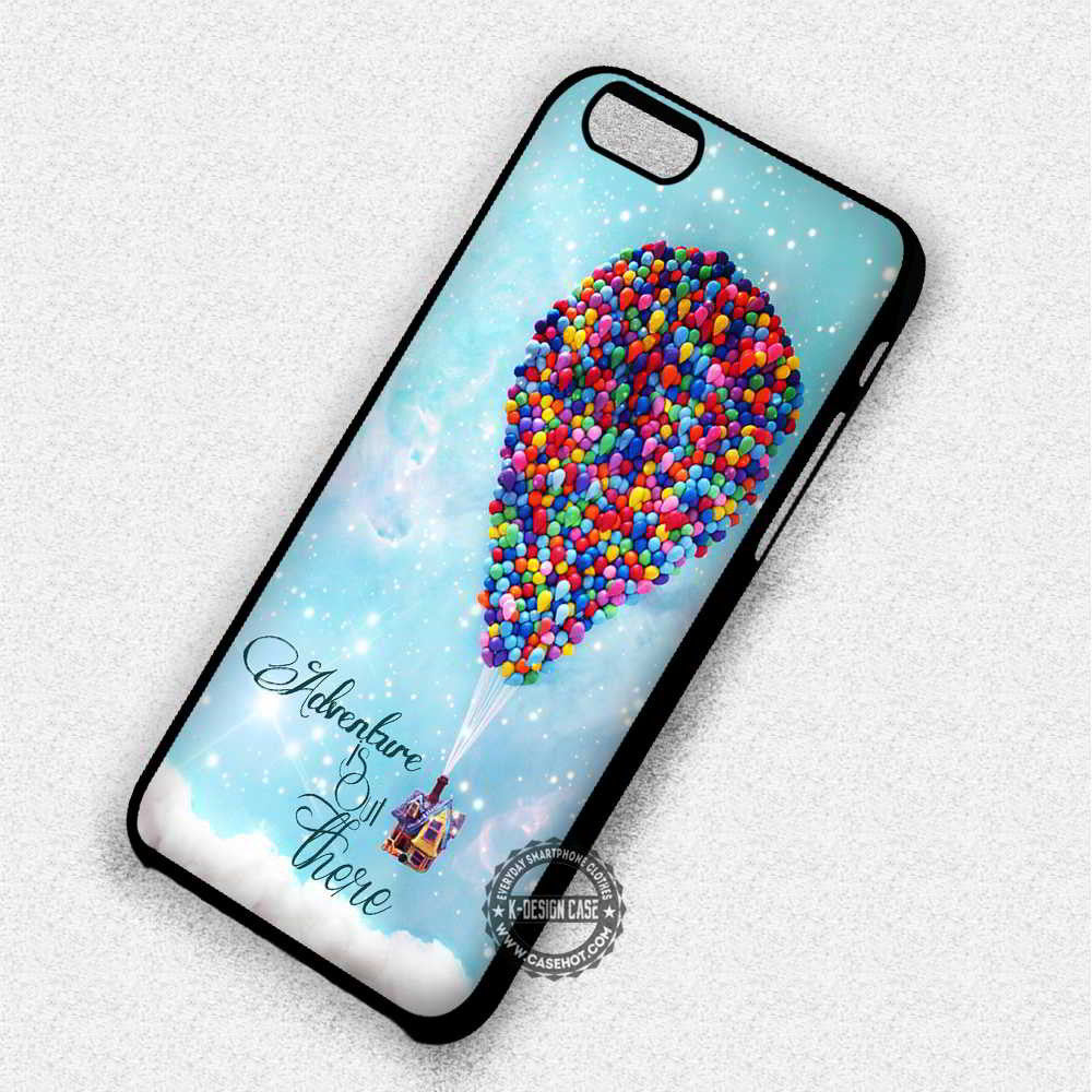 differently 68a66 baa2d Adventure is Out There Up Disney - iPhone 8+ 7 6s SE Cases & Covers