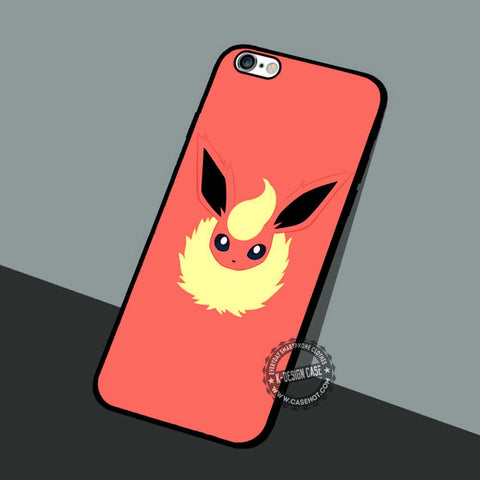 Flareon Wallpaper Face - iPhone 7 6 5 SE Cases & Covers