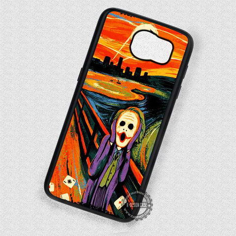 Funny Night Painting Joker - Samsung Galaxy S7 S6 S4 Note 7 Cases & Covers