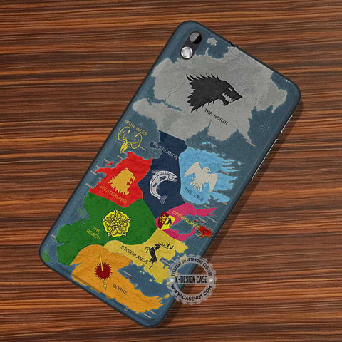 Game Map Retro - LG Nexus Sony HTC Phone Cases and Covers