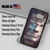 Game of Thrones Quote - Samsung Galaxy S7 S6 S5 Note 5 Cases & Covers