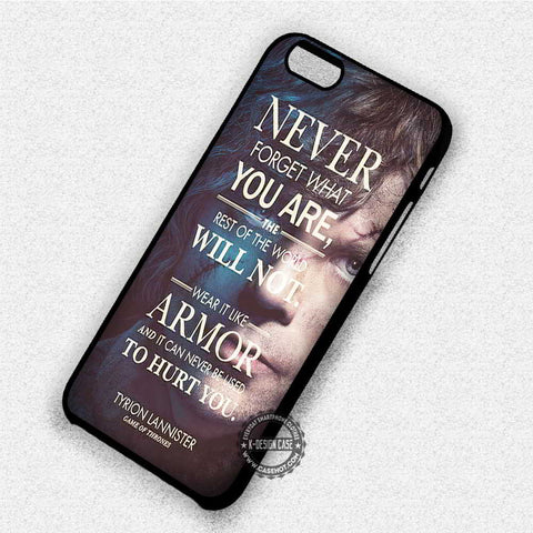 Tyrion Lannister Quote - iPhone 8+ 7 6s SE Cases & Covers