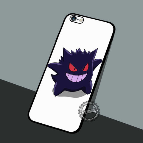 Gengar Pokemon Anime - iPhone 7 6 5 SE Cases & Covers