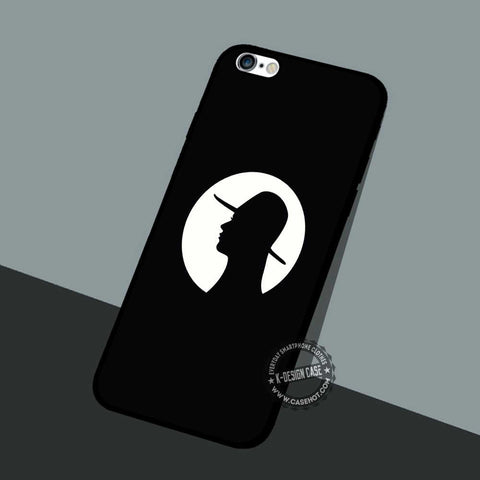 Girl Face Profile - iPhone 7 6 5 SE Cases & Covers