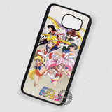 Girls Power Sailor Moon - Samsung Galaxy S7 S6 S5 Note 5 Cases & Covers