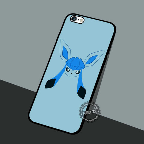 Glaceon Face Pokeball - iPhone 7 6 5 SE Cases & Covers