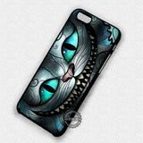 Alice Wonderland Ceshire Cat Stained Glass - iPhone 7 6 5 SE Cases & Covers