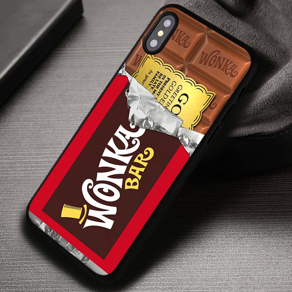 Golden Ticket Chocolate Bar Willy Wonka Bar Disney Iphone X 8 7 6s Se Cases Covers Iphonex