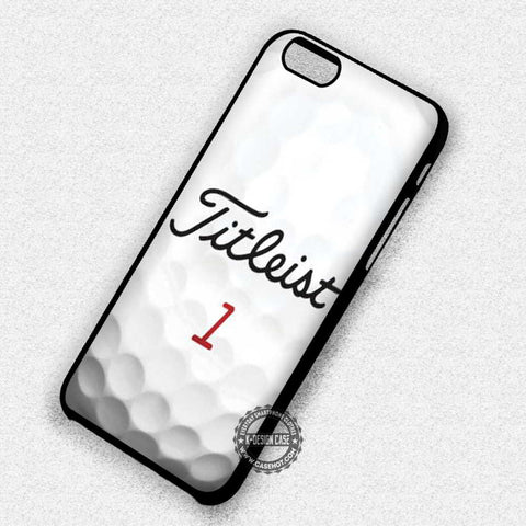 Titleist Tour Golf Balls Number 1 - iPhone 7 6 Plus 5c 5s SE Cases & Covers