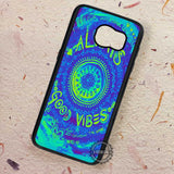 Good Vibes Mandala Tie Dye Always - Samsung Galaxy S7 S6 S5 Note 7 Cases & Covers