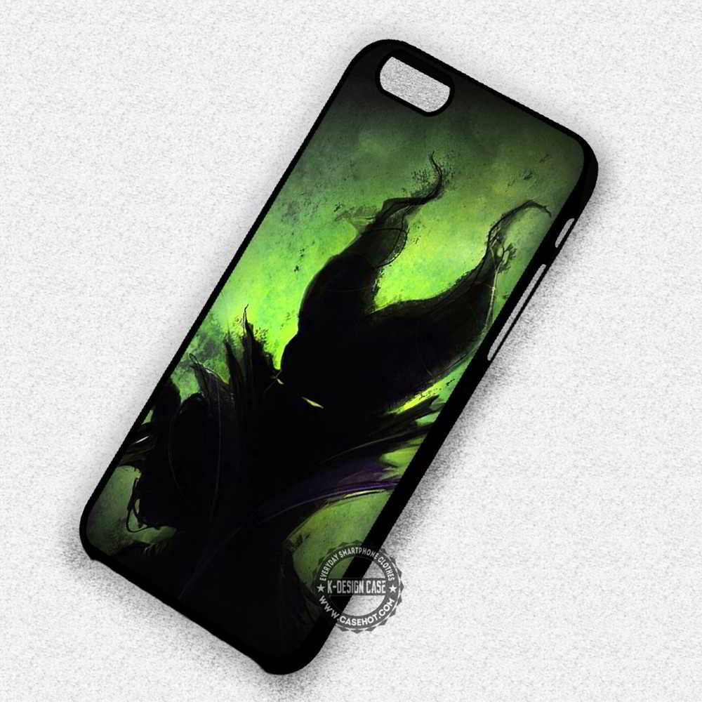 new concept f79a4 1f383 Green Art The Disney Villains Maleficent - iPhone 7 6 5 SE Cases & Covers