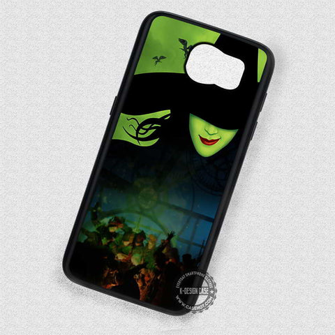 Green Faced Lady Witch Wicked - Samsung Galaxy S7 S6 S5 Note 7 Cases & Covers