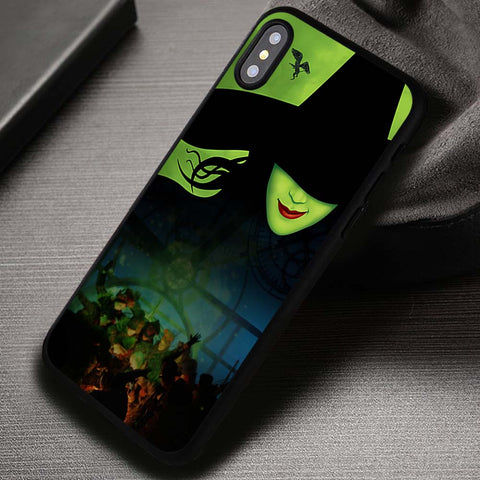 Green Faced Lady Wicked Musical - iPhone X Case