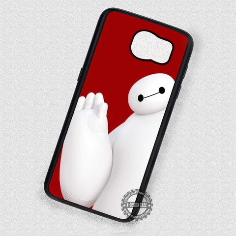 Greeting Cartoon Baymax - Samsung Galaxy S7 S6 S5 Note 4 Cases & Covers