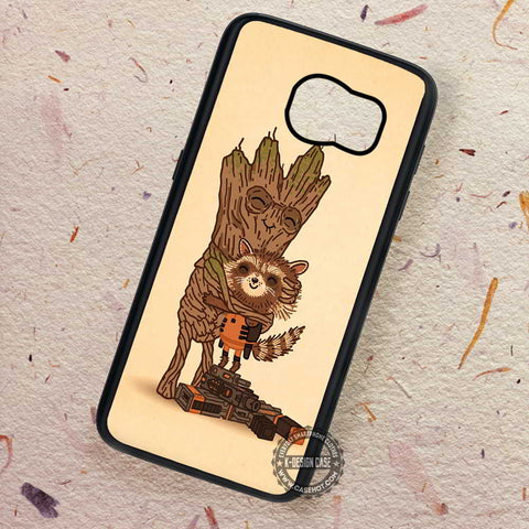 Guardian Galaxy Groot Hugh - Samsung Galaxy S7 S6 S5 Note 7 Cases & Covers