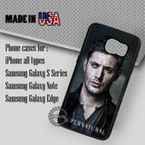 Half Face Dean Winchester - Samsung Galaxy S7 S6 S5 Note 5 Cases & Covers