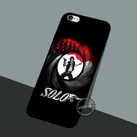 Han Solo James - iPhone 7 6 5 SE Cases & Covers