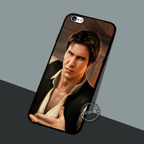 Han Solo Vintage - iPhone 7 6 5 SE Cases & Covers