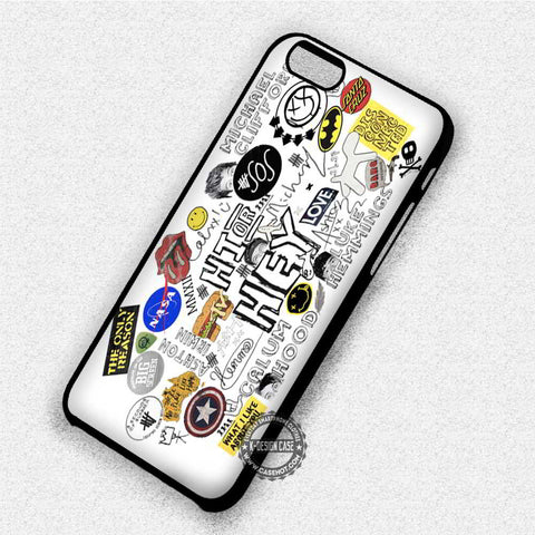 Hit Lyrics Cute Collage - iPhone 7 6 Plus 5c 5s SE Cases & Covers