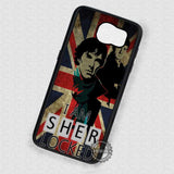 I am With Them Sherlock Holmes - Samsung Galaxy S6 S5 S4 Note 5 Cases & Covers