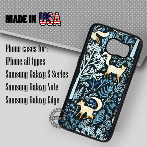 Red Foxes Animals Retro - Samsung Galaxy S7 S6 S5 Note 5 Cases & Covers