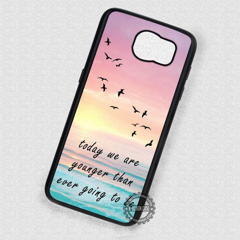 Quote Birds Silhouette - Samsung Galaxy S7 S6 S4 Note 7 Cases & Covers
