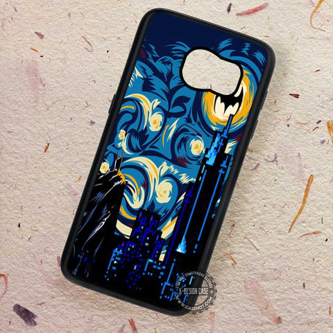 Starry Knight Dark Knight Van Gogh - Samsung Galaxy S7 S6 S5 Note 7 Cases & Covers