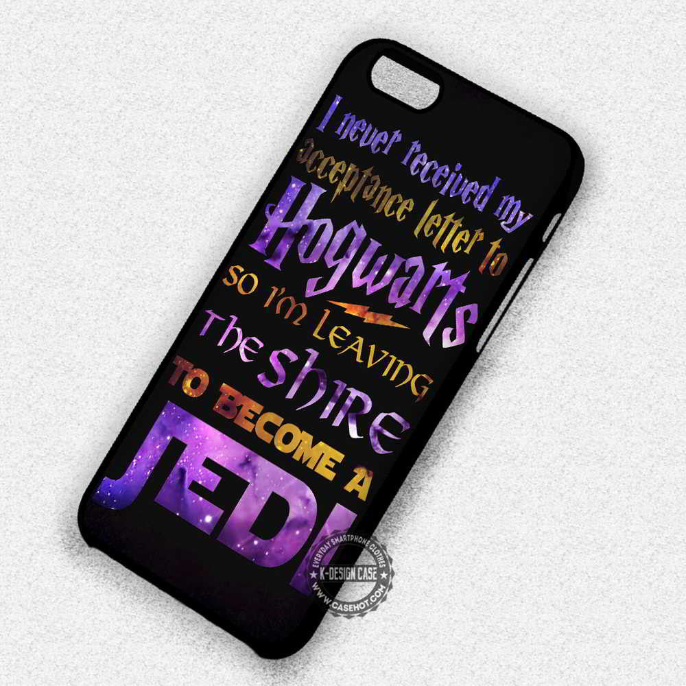 huge discount 39640 09c3f Letter Hogwarts To Jedi Harry Potter - iPhone 7 6s 5c 4s SE Cases & Covers