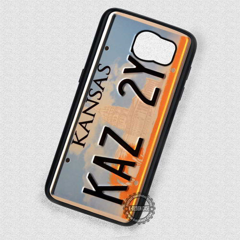 License Plate Image Supernatural - Samsung Galaxy S7 S6 S5 Note 4 Cases & Covers