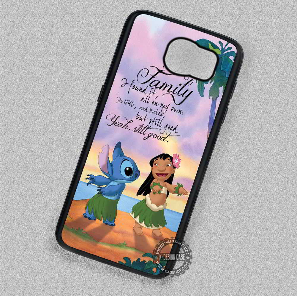 Lilo And Stitch Best Friends Hawaii Quote Samsung Galaxy S7 S6 S5