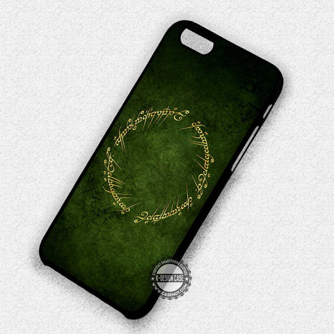 Lord Of The Rings - iPhone 7 6 5 SE Cases & Covers
