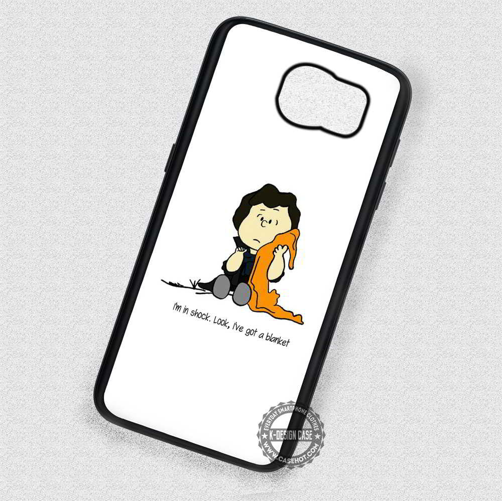Love His Blanket Quote Sherlock Holmes - Samsung Galaxy S7 S6 S5 Note 7  Cases & Covers