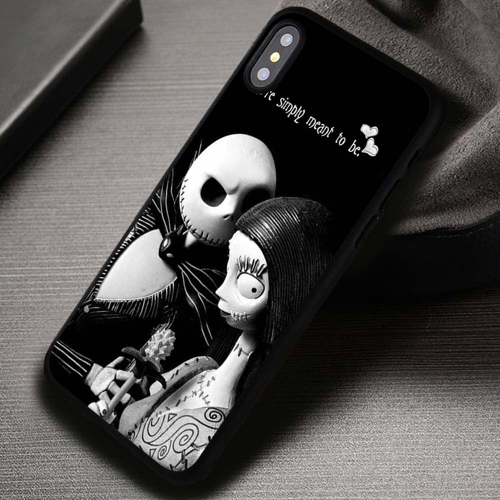info for 2833d 73a5e Love Quotes Jack Skellington Sally - iPhone X 8+ 7 6s SE Cases & Covers  #iPhoneX