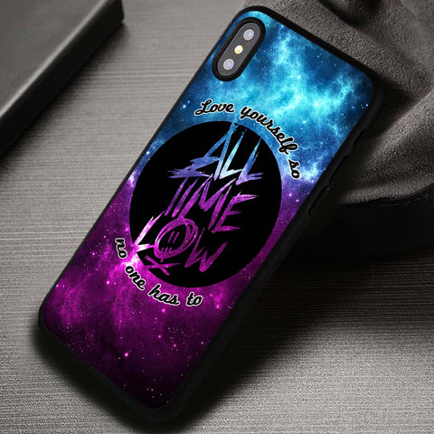 Love Yourself All Time Low Lyrics - iPhone X Case