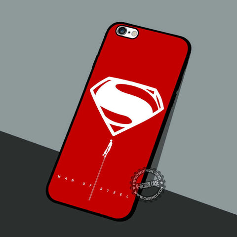 Logo Superman Superheroes - iPhone 7 6 5 SE Cases & Covers