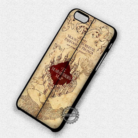 Map Cover Harry Potter - iPhone 7 6 Plus 5c 5s SE Cases & Covers