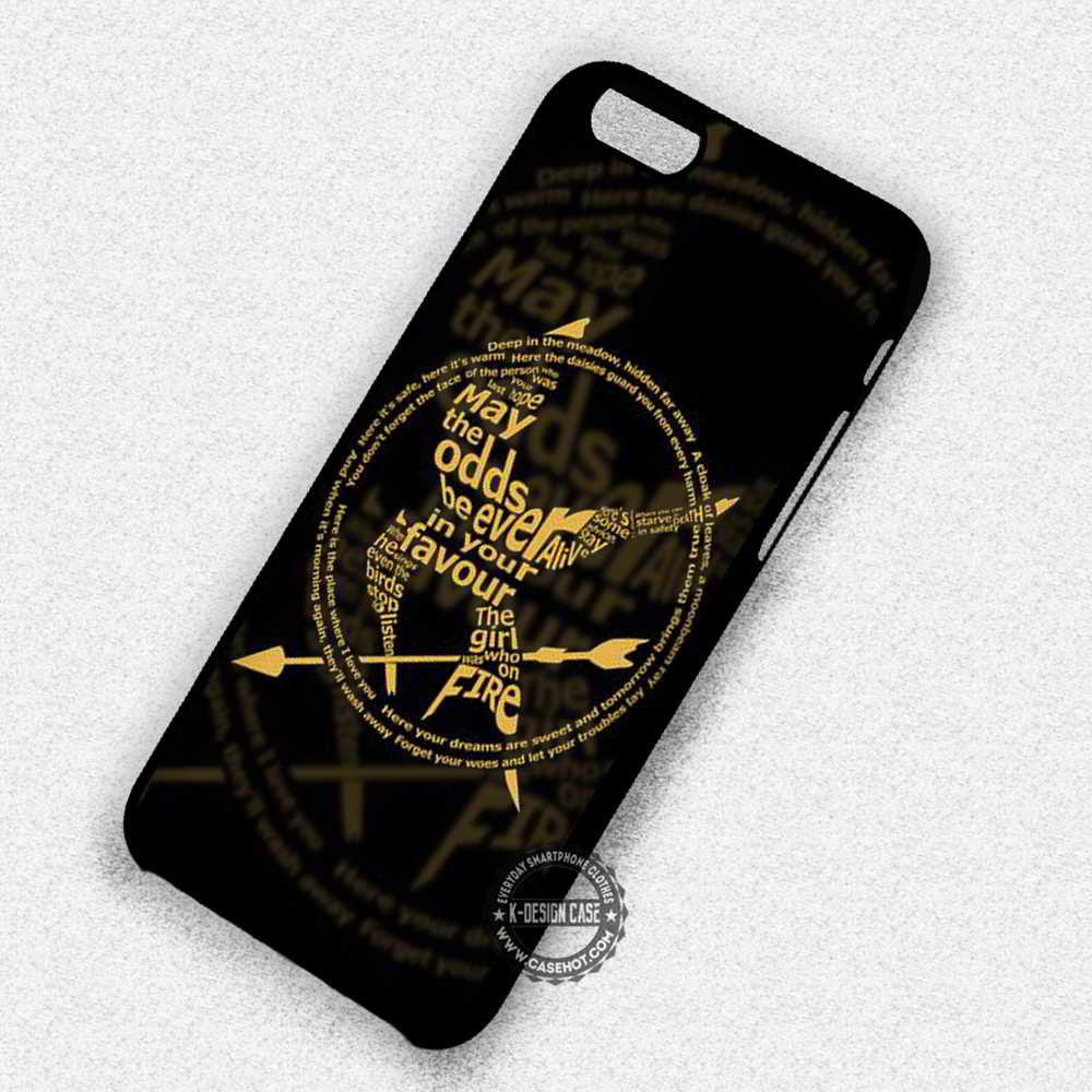 buy online 87a75 b2af0 May The Odds Katniss Hunger Games Catching Fire - iPhone 7 6 5 SE Cases &  Covers