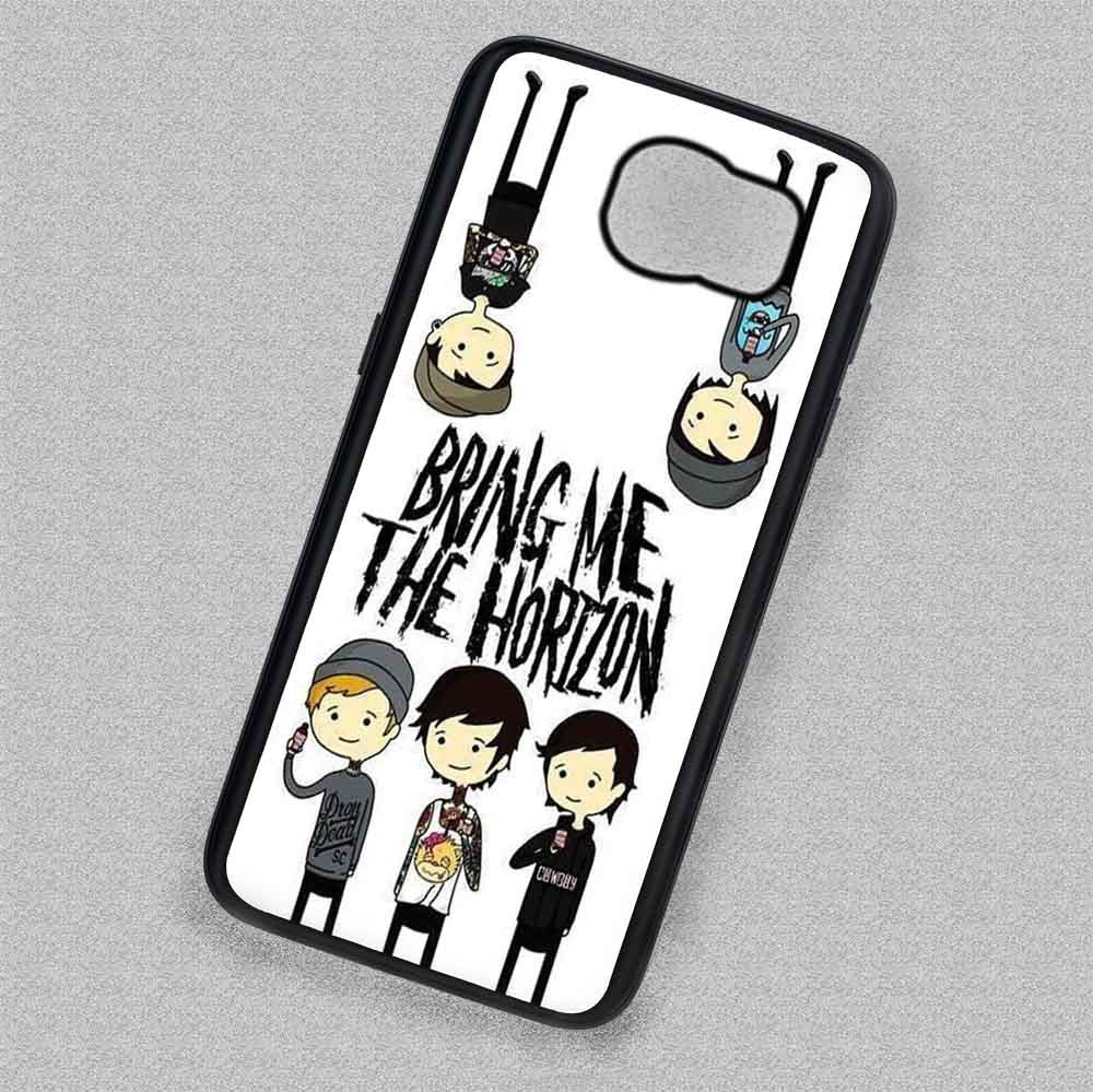 Members Doodle Bring Me The Horizon - Samsung Galaxy S7 S6 S5 Note 7 Cases  & Covers