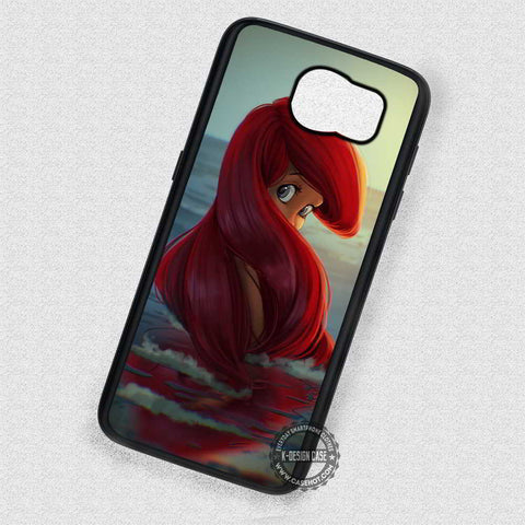 Mermaid Girl Ariel - Samsung Galaxy S7 S6 S5 Note 4 Cases & Covers