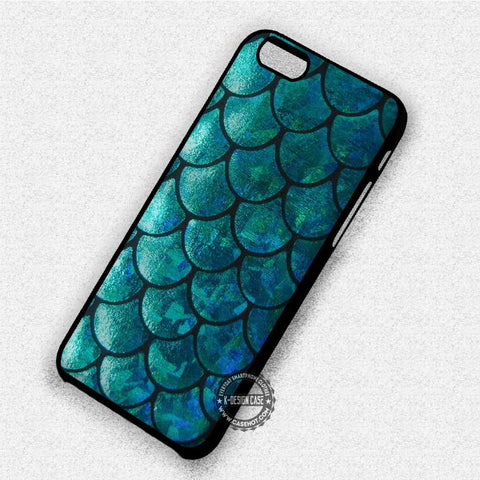 Mermaid Tail Texture - iPhone 7 6 Plus 5c 5s SE Cases & Covers