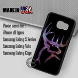 Nebula Deer Head - Samsung Galaxy S7 S6 S5 Note 5 Cases & Covers