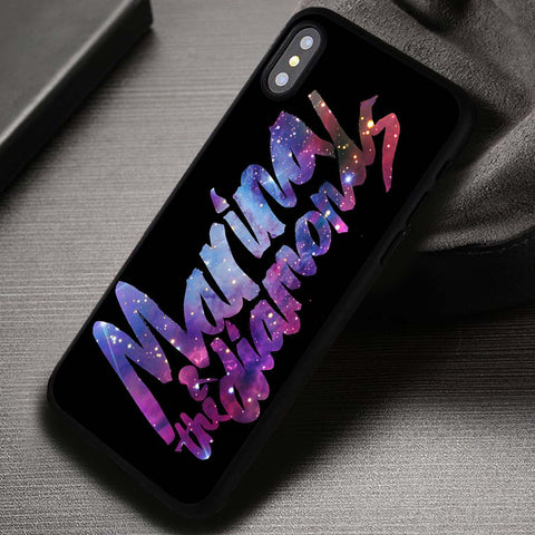 Nebula Diamonds Marina And The Diamonds - iPhone X Case