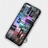 Nebula Galaxy Collage - iPhone 8+ 7 6s SE Cases & Covers